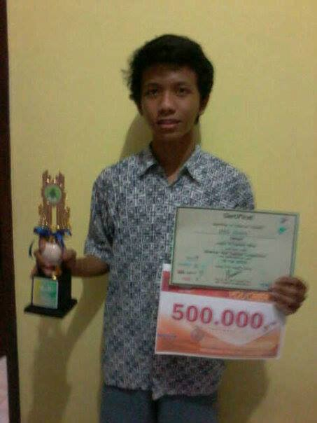 Juara 3 Blog Design di Science and Techno Competition SMAN 5 Bekasi