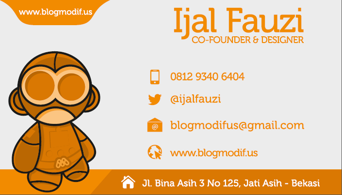 Business Card Blog Modifus