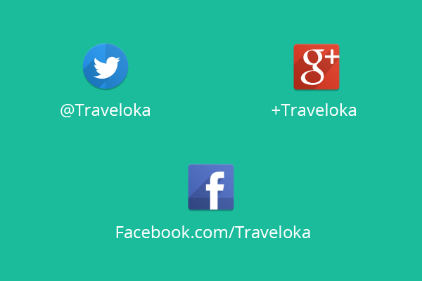 traveloka on social media