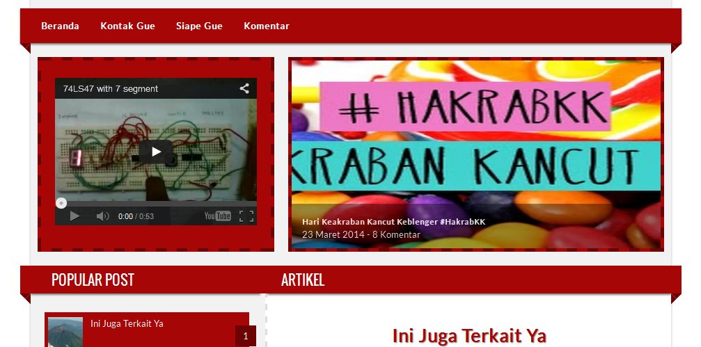 Kaka Blogger Template
