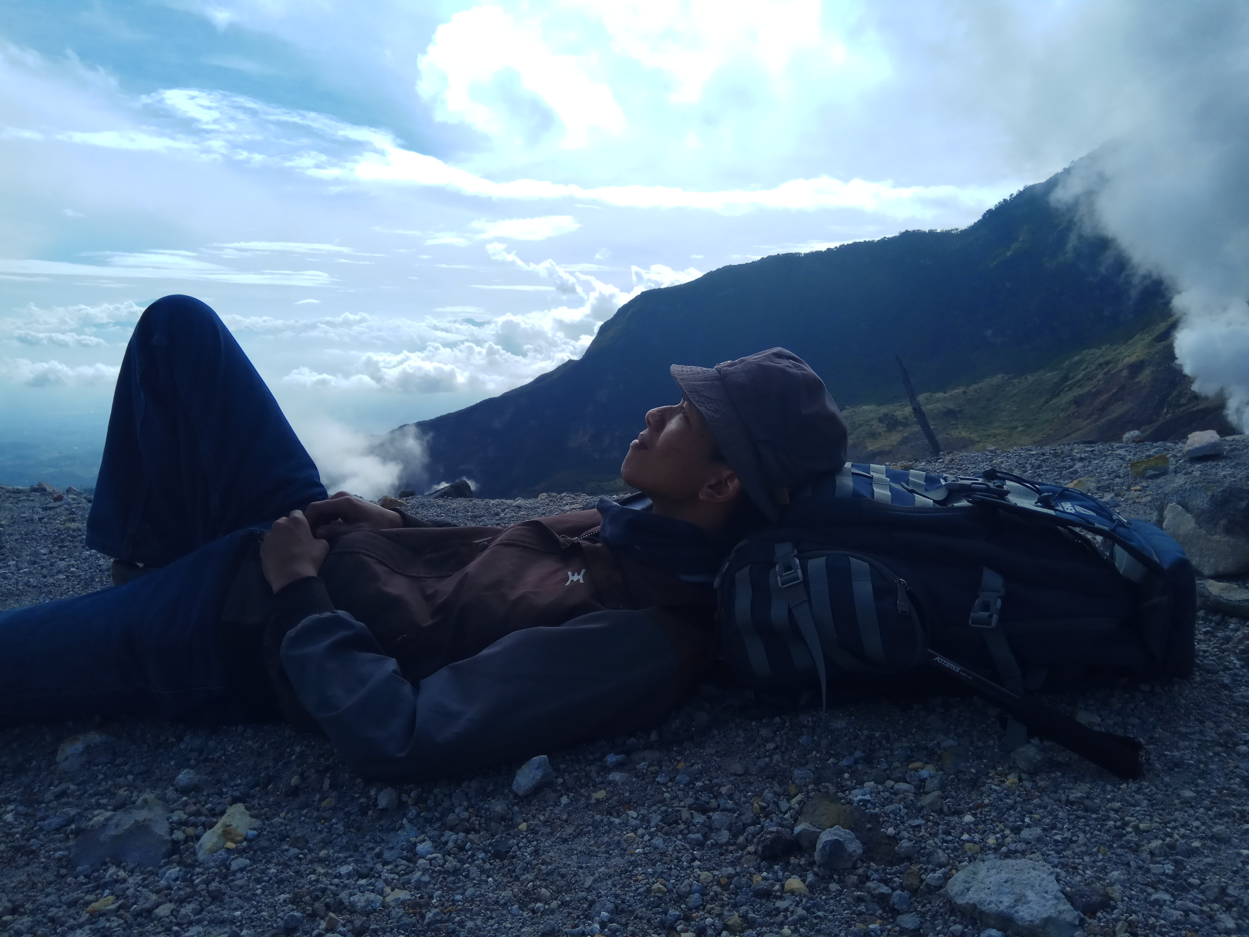 The Nativestalker at Gunung Papandayan